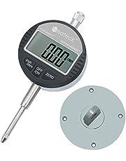 Neoteck DTI Digital Dial Indicator Probe 0.0005''/0.01mm Dial Test Gauge Range 1''/25.4mm Dial Test Indicators Electronic Indicator Gauge Measurement Industrial Indicators