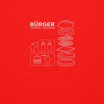 Planet Nerd - Bürger Assembly required - Herren T-Shirt, Größe S, rot