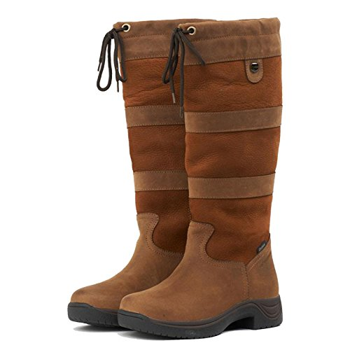 Country Leather Riding 11 Brown Boots Unisex Waterproof Adults Horse 3 RBOSqnP