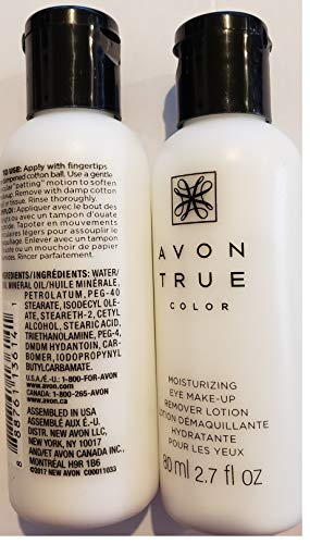 New-Avon True Color Moisturizing Eye Make-up Remover Lotion