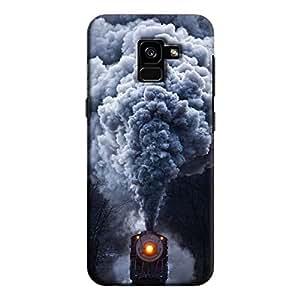 Cover It Up - Smoke Train Galaxy A8 Plus Hard Case