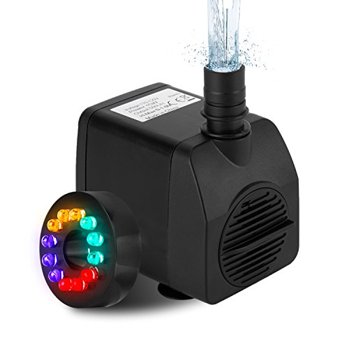 Small Fountain Pump With Led Lights in Florida - 1