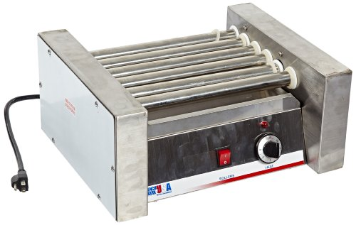 Benchmark usa 62010 10 dog roller grill
