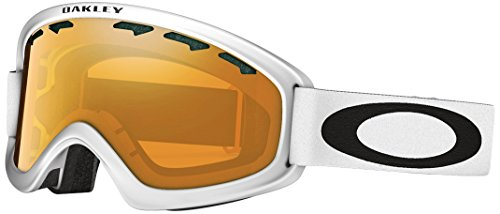 Oakley OO7066-02 O2 XM Eyewear, Matte White, Violet Iridium - Shop Outlet Oakley