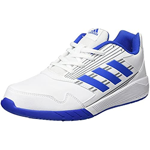 adidas Altarun K, Chaussures de Gymnastique Mixte Enfant, Multicolore (FTWR White/Blue/Mid Grey S14), 28 EU