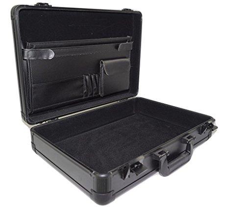 Aluminum Briefcase,Aluminum laptop case,Aluminum show case,Aluminum case (black, 1812.64.6 inch) by YORKBAG