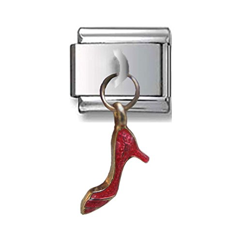 Dangle Red Shoe Italian Charm (Red Shoe Italian Charm)