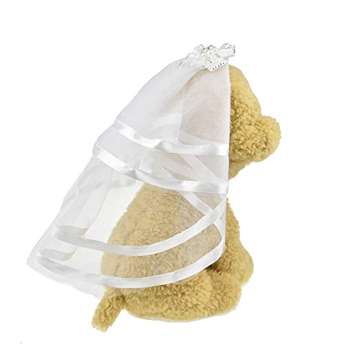 FLAdorepet Veil for Dogs Small Dog Pet Cat