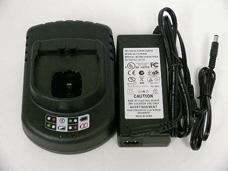 Amazon.com: Ryobi 12 V a 18 V Cargador de batería para NiCd ...
