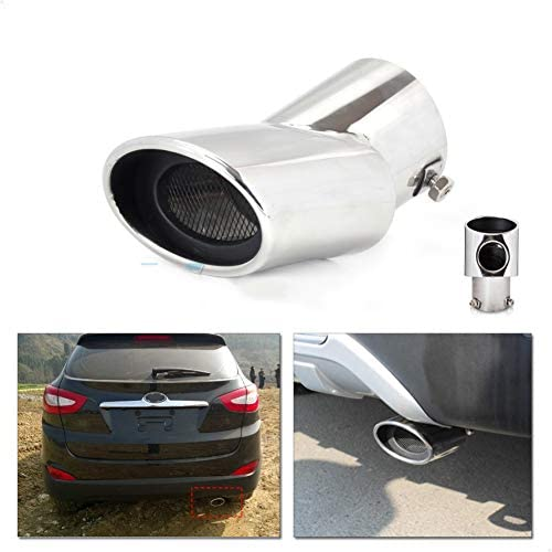 NA 304 Stainless Steel Exhaust Tail Rear Muffler Tip Pipe For Hyundai ix35 Tucson 2010 2011 2012 2013 2014