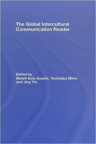 The Global Intercultural Communication Reader: 9780415958127