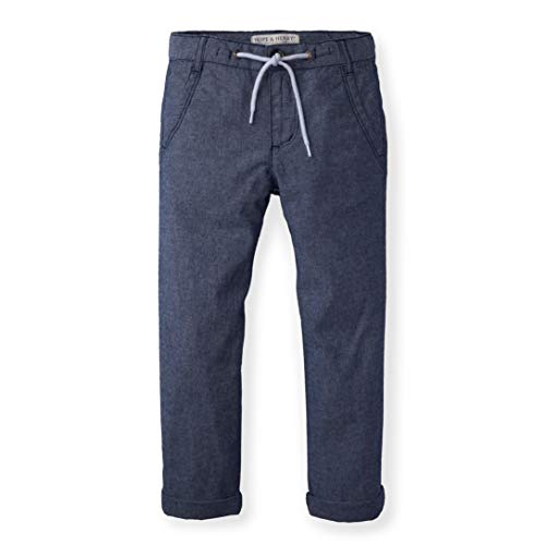 (Hope & Henry Boys Chambray Rolled Cuff Pant with)