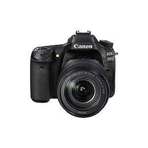 Canon EOS 80D Plus EF-S 18-135 mm IS USM Lens – Black