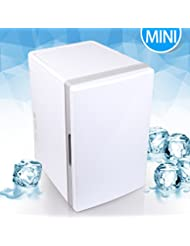 BuySevenSide Mini Compact Portable (18 Liter) Refrigerator for Home ,Office, Car or Boat ,The Best Mini Fridge With Thermoelectric Cooler and Warmer System.