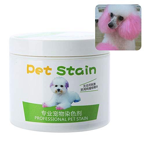 HEART SPEAKER 100ml Cat Dog Professional Pet Stain Anti Allergic Hair Dye Cream Coloring Agent Cherry Pink
