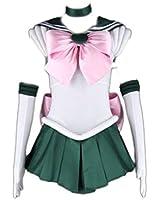 Sailor Moon Cosplay Costume -Sailor Jupiter Kino Makoto 1st Fighting Kid Small