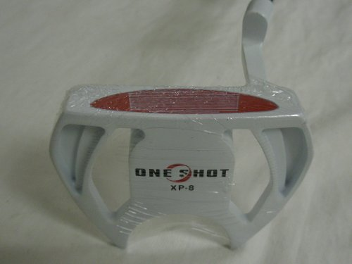 One Shot XP-8 Putter 35″ Offset Mallet White XP8 NEW, Outdoor Stuffs