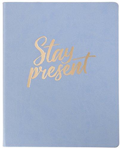 "Eccolo World Traveler Blue ""Stay Present"" 8x10"