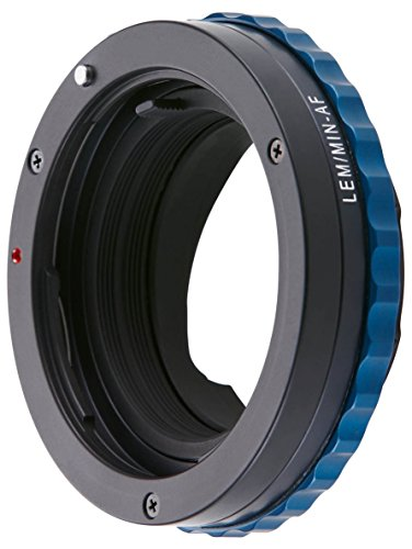 - Novoflex Bellows Adapter M39 Thread to Sony Alpha/Minolta AF-Lens with Aperture Control Ring (LEIMIN-AF-NT)