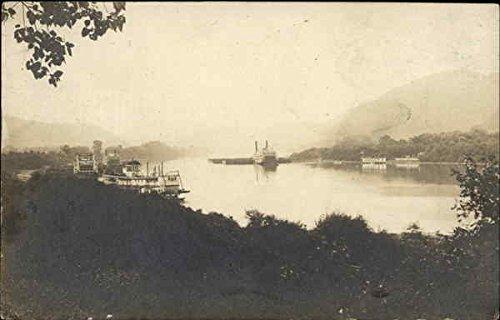 Boats on the River: Coal City, Jewell, J.B. Finley Steamers Original Vintage Postcard (Jb Original Vintage)