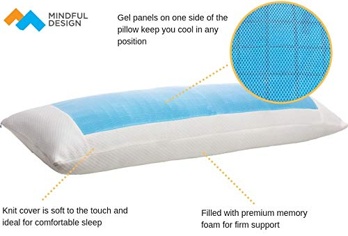 Mindful Design Cooling Body Pillow