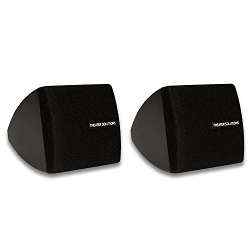 Theater Solutions TS30B Mountable Indoor Speakers Black Book