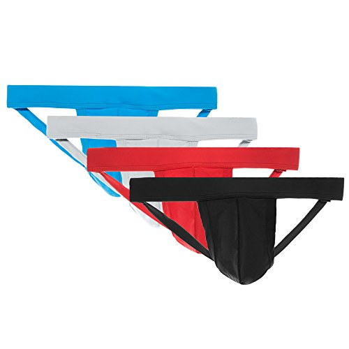 ENV Men's Athletic Supporter Performance Jockstrap Underwear - Different Color Options