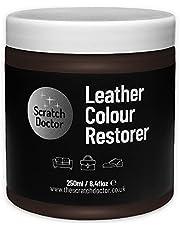 Scratch Doctor skóra odbarwiający balsam kolor regenerator naprawa na kanapy fotele samochodowe buty (czekoladowy brąz)