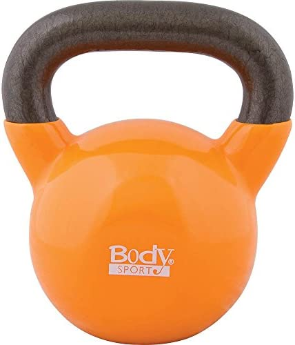 Body Sport Kettlebell with Steel Handle and Cast Iron Bell