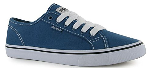 Mens Classic Sunrise LC Easy Style Laced Canvas Shoes (9 (43), Blue)