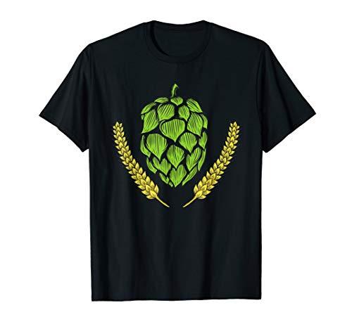 IPA Craft Beer Hops Logo Humulus lupulus TShirt