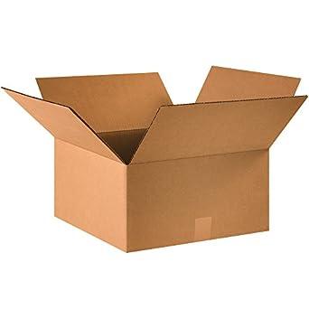 """Cajas rápido bf16168 cajas de cartón, 16 """"x 16"""" x 8 """""""