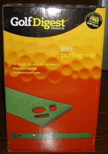 Golf Digest 6 Foot Putting (Golf Digest Putting)