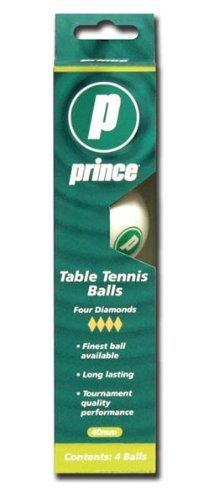 Tennis Prince Ball (Prince 1-Star Table Tennis Balls (White, 6-Pack))