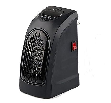 Ecent Mini Handy Heater Estufa Eléctrica portatil 400W enchufe eléctrica ajustable de 15 a 32 ° bajo consumo baño casa oficina: Amazon.es: Electrónica