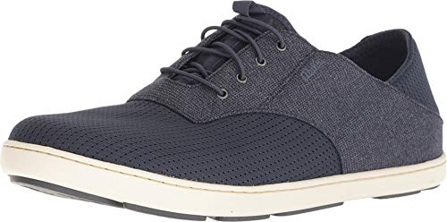 (OLUKAI Men's Nohea Moku Shoe, Night/Night, 14 M US)