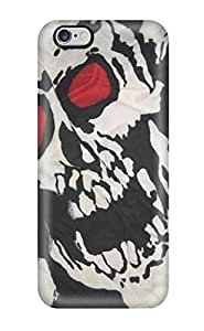 Protection Case For Iphone 6 Plus / Case Cover For Iphone(skull)