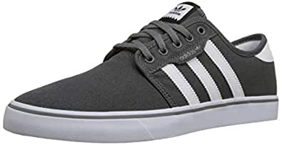 f163a0a4224 Image Unavailable. Image not available for. Color  adidas Men s Seeley  Skate Shoe ...