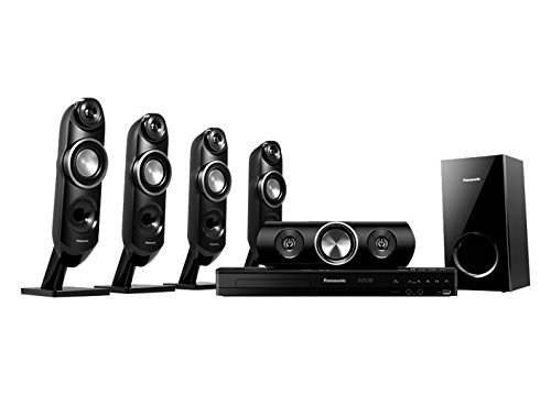 Panasonic SC-XH315 Bluetooth Multi Region Free 5.1-Channel Home Theater Speaker System w/ Free HDMI Cable, 110-240 Volt