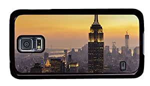Hipster Samsung Galaxy S5 Case buy cases new york city sunset PC Black for Samsung S5