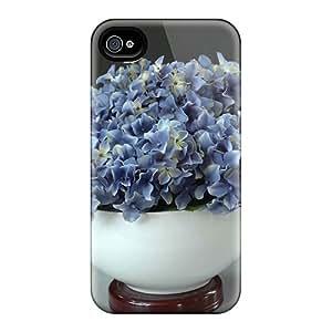 Hot Design Premium EUg43007VNbI Cases Covers Iphone 6 Protection Cases(blue Hydrangea)