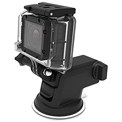 Car Mount, iOttie Easy One Touch 3 (V2.0) Universal Phone Holder for iPhone 6s Plus 6s SE Samsung Galaxy S7 Edge S6 Edge Note 5 4- Retail Packaging- Black