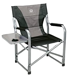 Amazon Com Outbound Deluxe Directors Chair With Side