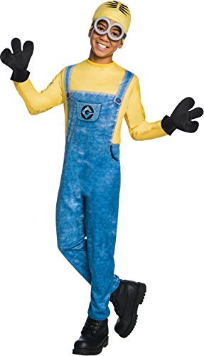 Rubie's Costume Despicable Me 3 Child's Dave Minion Costume, Multicolor, Large