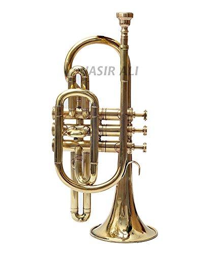 Nasir Ali Cornet Brass Bb 3 valve