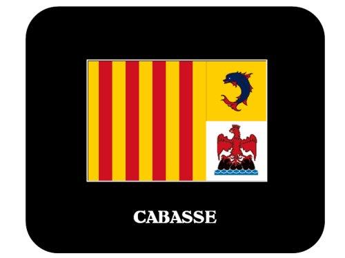"""Provence-Alpes-Cote d'Azur - """"CABASSE"""" Mouse Pad"""