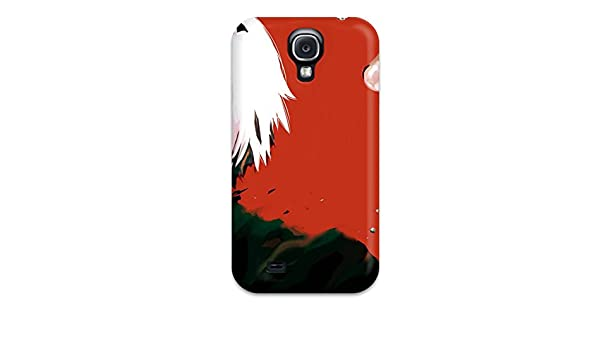 Amazon.com: Perfect Fit MhslREj19404vYbHK Tokyo Ghoul Anime Gore Shotwhite Mascara Crazy Case For Galaxy - S4: Cell Phones & Accessories