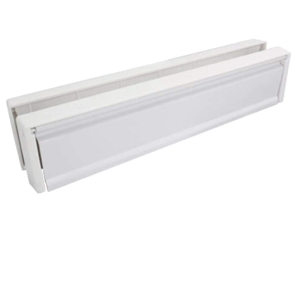 HomesSecure HS3753 - Buzó n de UPVC para puerta (25,4 cm), blanco 4cm) Home Secure