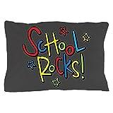 CafePress - School Rocks! - Standard Size Pillow Case, 20''x30'' Pillow Cover, Unique Pillow Slip