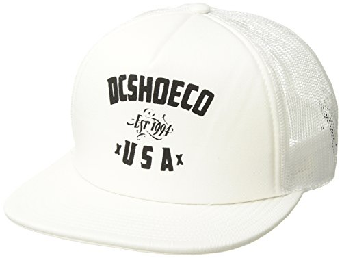 DC Men's Sugihara Trucker, Snow White, 1SZ